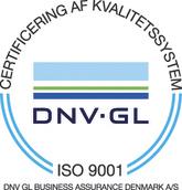 Strandbygaard Trykkeri - Miljøbevidst trykkeri, ISO 9001 certifikat