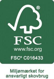 strandbygaard trykkeri miljøbevidst trykkeri, FSC mærket