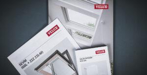 Flexbind der er trykt til Velux. Flexbind er trykt med 4 buk og sidelim og skal bruges til monteringsvejledninger. Få trykt professionelt og miljøvenligt hos Strandbygaard Trykkeri i Skjern, Vestjylland