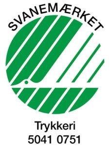 Strandygaard Trykkeri Svanemærket på tryksager