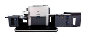 strandbygaard trykkeri maskinparken viser her en HP Indigo 12000
