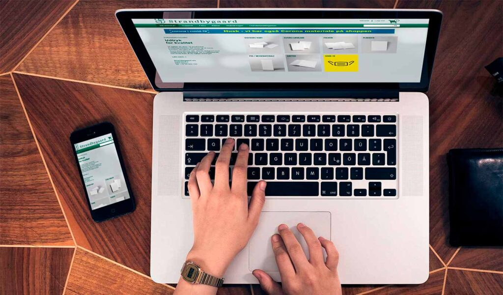 trykkeri hvor du kan bestille online