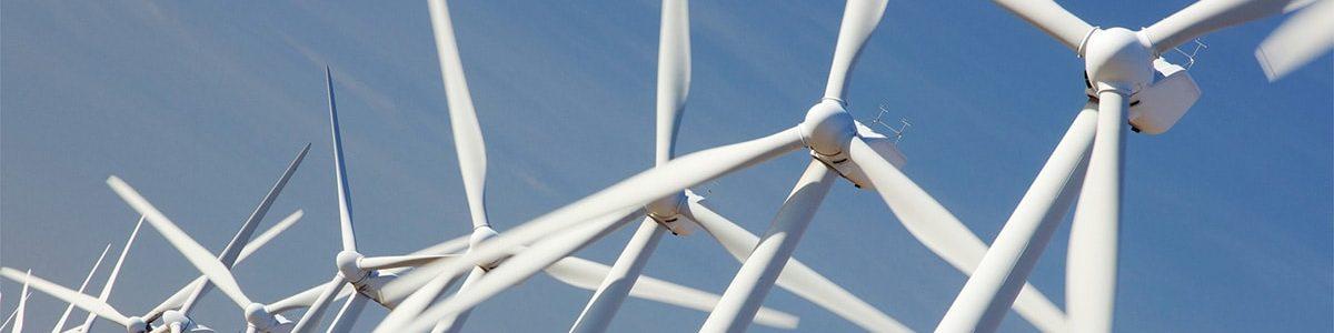 Miljø bevidst trykkeri - billede af vindmøller