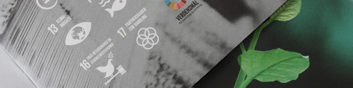 Miljø bevidst trykkeri i Vestjylland FN verdensmål